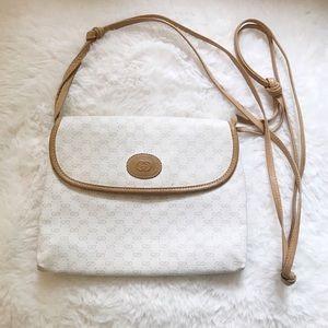 Gucci | Vintage RARE White Monogram Crossbody